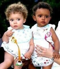 Черно-белые близнецы