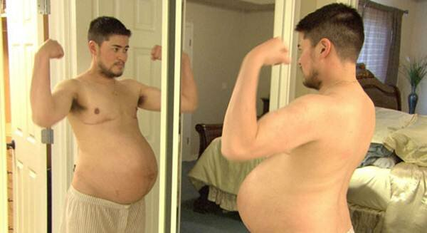 Первый беременный мужчина стал одиночкой. Фотографии