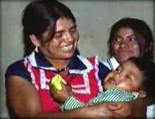 Инес Рамирез с детьми