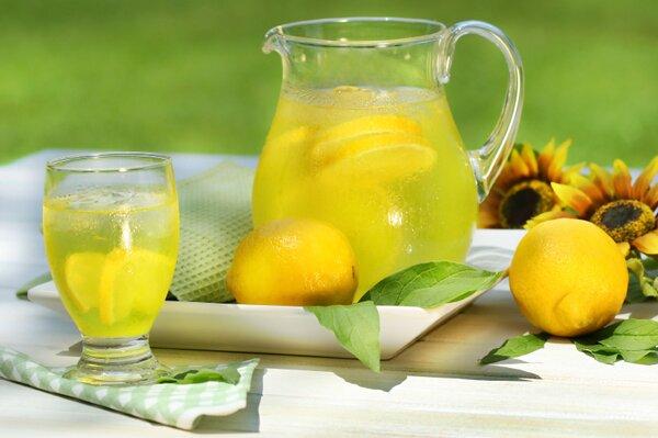 Рецепты лимонада. Фотографии