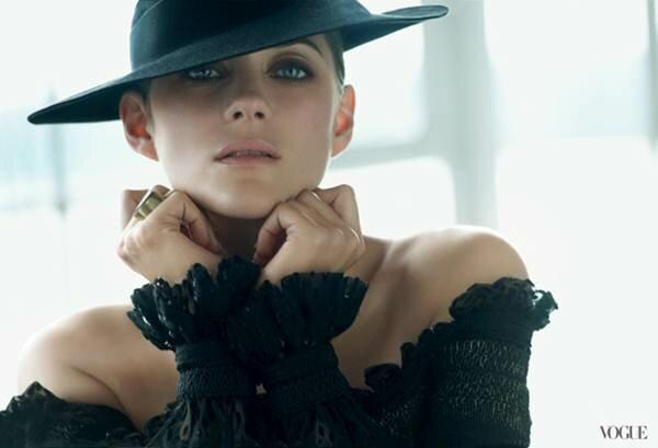 Marion Cotillard Марион Котийяр на обложке Vogue US