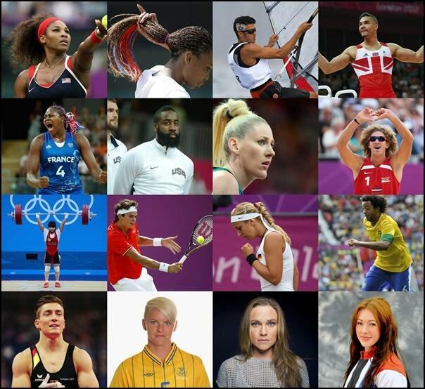 Лучшие прически XXX Олимпийских Игр