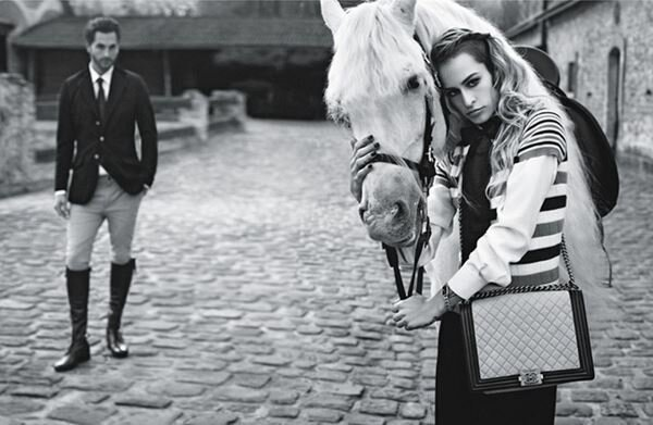 Alice Dellal Chanel Boy 2