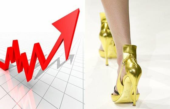 Высота каблуков зависит от количества денег. Фотографии