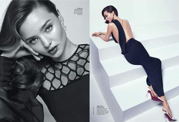 Миранда Керр в Vogue Australia. Фотографии
