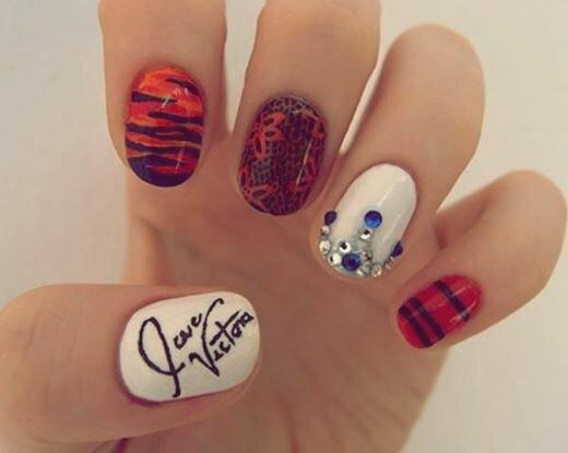 арт дизайн ногтей: