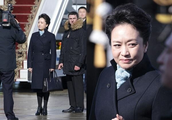 Первая леди Китая певица Пэн Лиюань. Фотографии