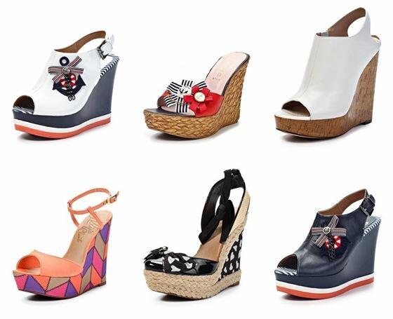 Тенденции моды пляжной обуви