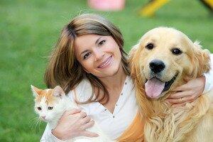 Таблица соответствия возраста собаки, кошки и человека. Фотографии