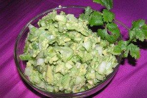 Салат с авокадо: рецепт. Фотографии