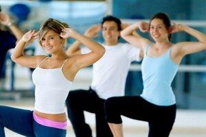Физические упражнения для снятия стресса и напряжения. Фотографии