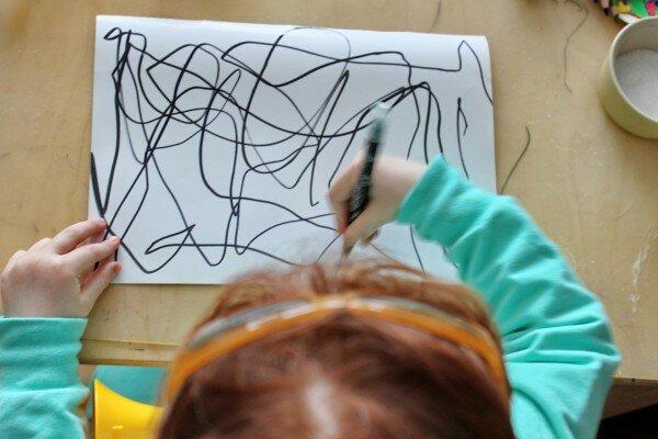 неОБЫЧНОЕ рисование. Нарисуй себе «Пикассо». Фотографии