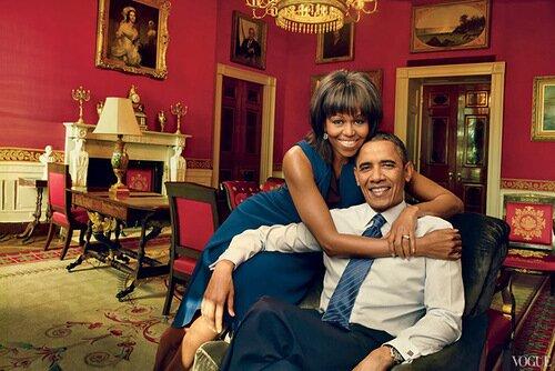 Мишель Обама на обложке журнала Vogue US. Фотографии