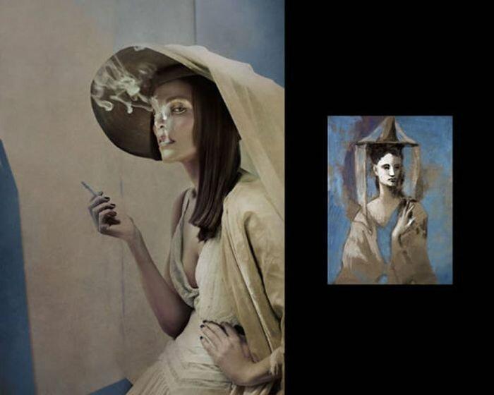 Женщины картин Пикассо в реальной жизни. Фотографии