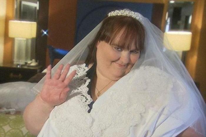 Самая толстая невеста в мире. Фотографии