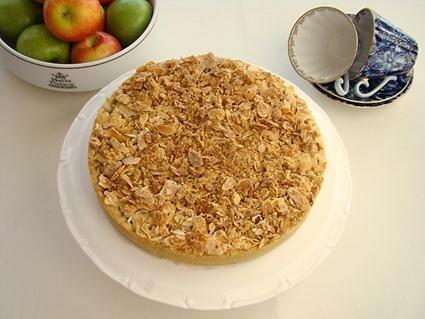 Парижский шик. Яблочный тарт с миндальным нугатином