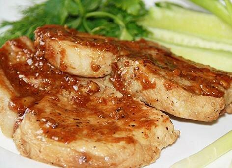 Вкусная свинина в сладком соусе - Кулинарный рецепт