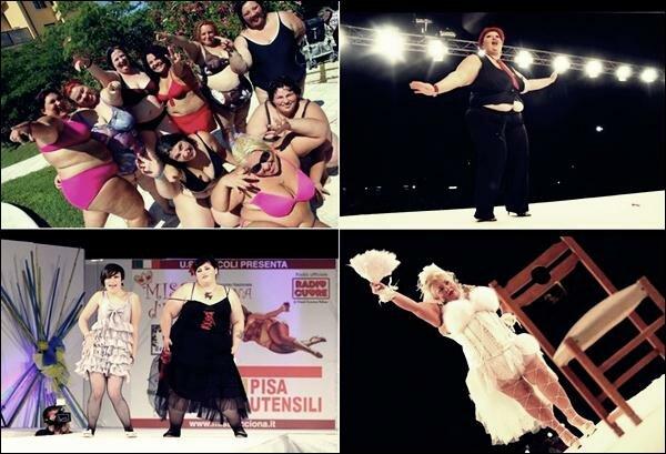 Итальянский конкурс «Miss Cicciona» для чрезмерно упитанных красавиц