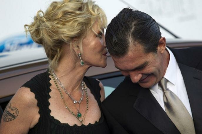 Антонио Бандерас и Мелани Гриффит. Фотографии