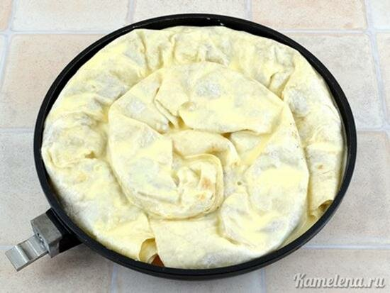Мясной пирог с фаршем из лаваша рецепт с