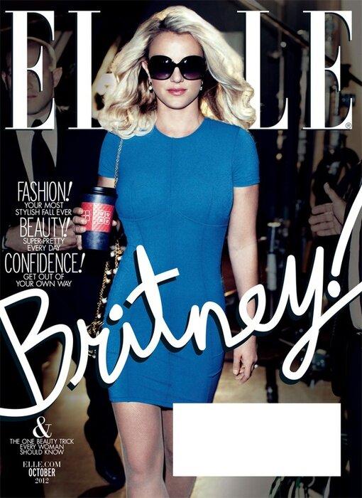 Фотографии Бритни Спирс в журнале Elle US