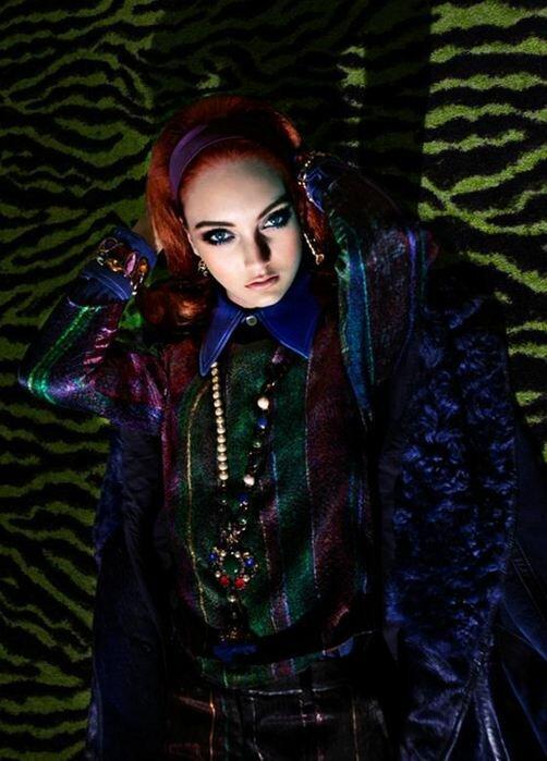Модная психоделика в Tank Magazine. Фотографии
