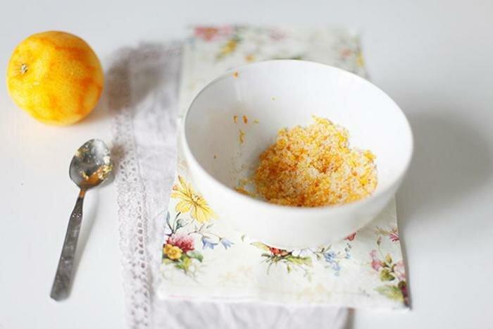 Клюквенный пирог с апельсином