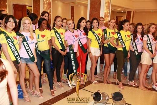 Победительница конкурса «Мисс Земля 2017». Фотографии Терезы Файсковой из Чехии
