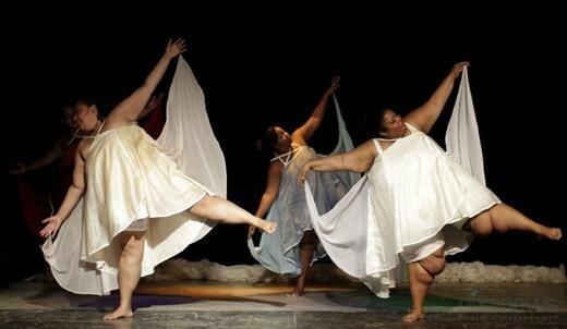 Кубинские балерины-пышки Фотографии необычного балета
