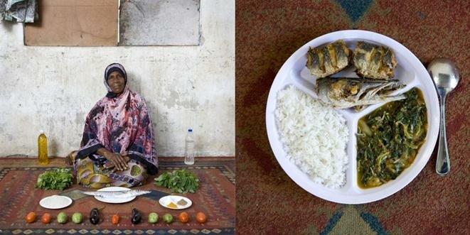 Бабушки всего мира со своими фирменными блюдами. Фотографии