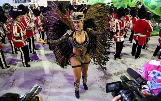 Фотографии бразильского карнавала 2017