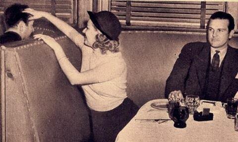 Как знакомились с мужчинами наши прабабушки. Фотографии