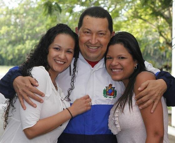Уго Чавес и женщины в его жизни. Фотографии