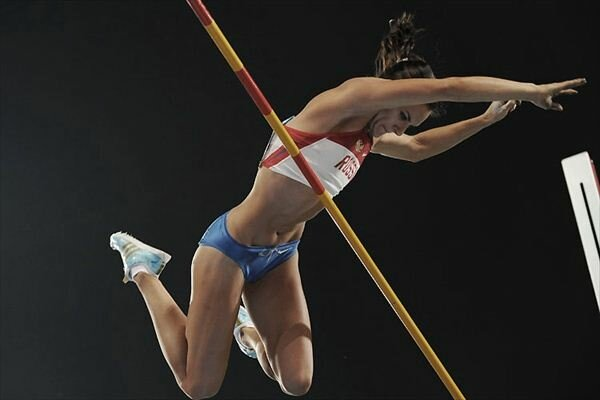 Елена Исинбаева Самая успешная спортсменка России