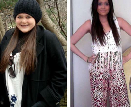 Похудение меняет внешность. Фотографии