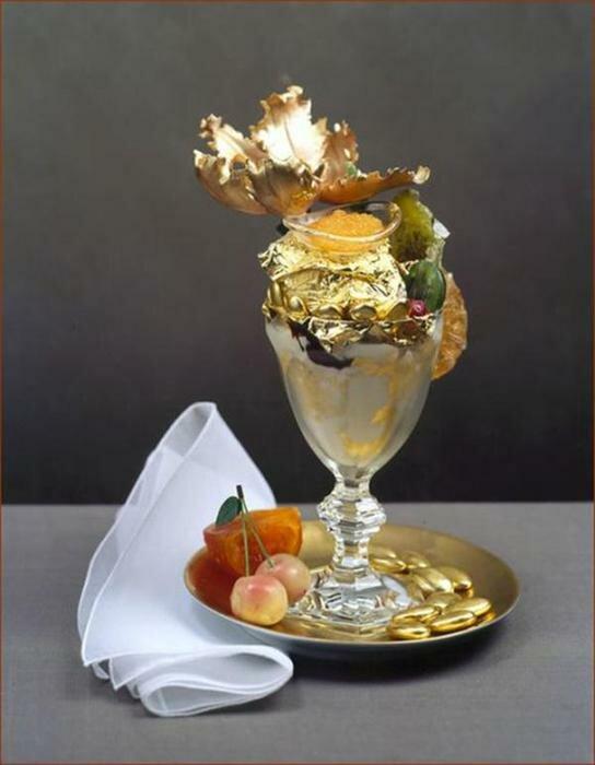 Необычные виды мороженого. Фотографии