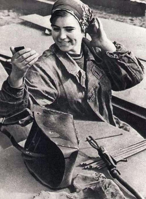 Советские женщины. Фотографии