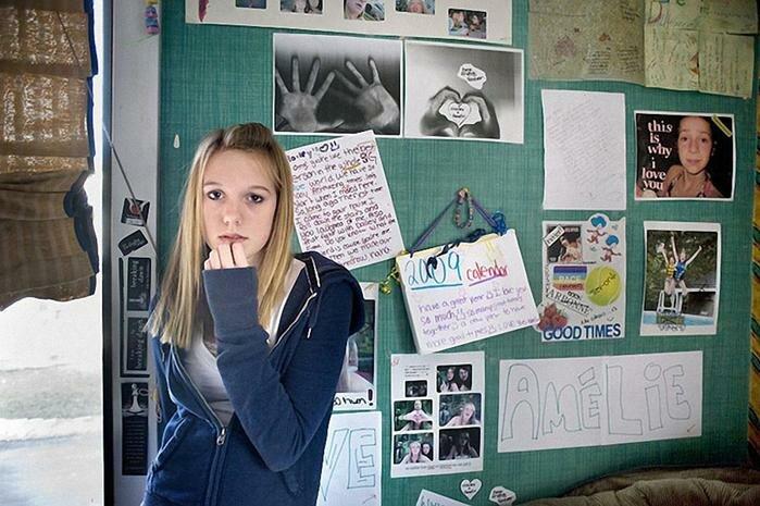 Девушка и её комната. Фотопроект. Фотографии