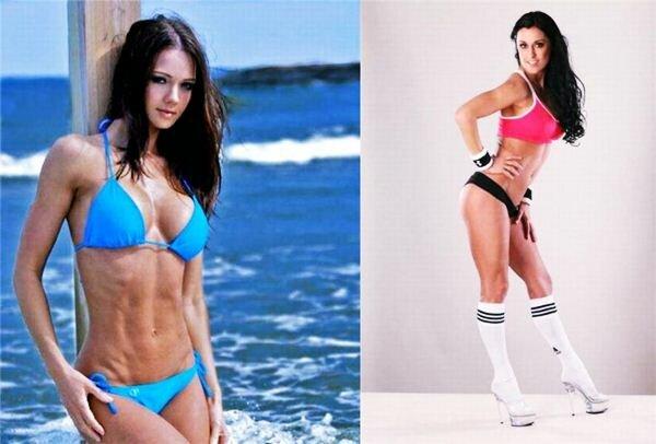 Фотографии девушек-спортсменок