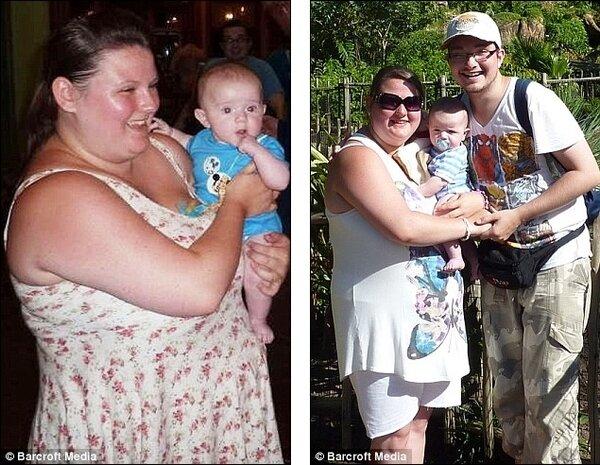 Девушка похудела после того, как опозорилась. Фотографии