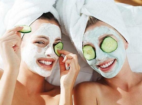 Увлажняющие маски для кожи лица. Фотографии