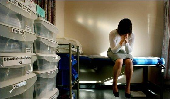 Изнасилование как следственный эксперимент.... Фотографии