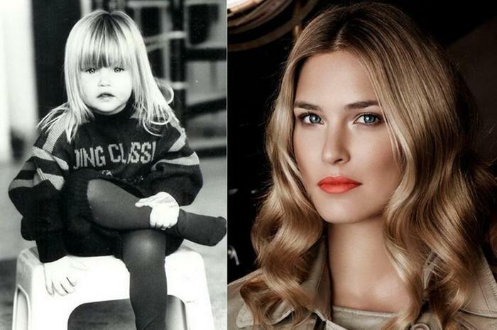 Супермодели в детстве. Фотографии