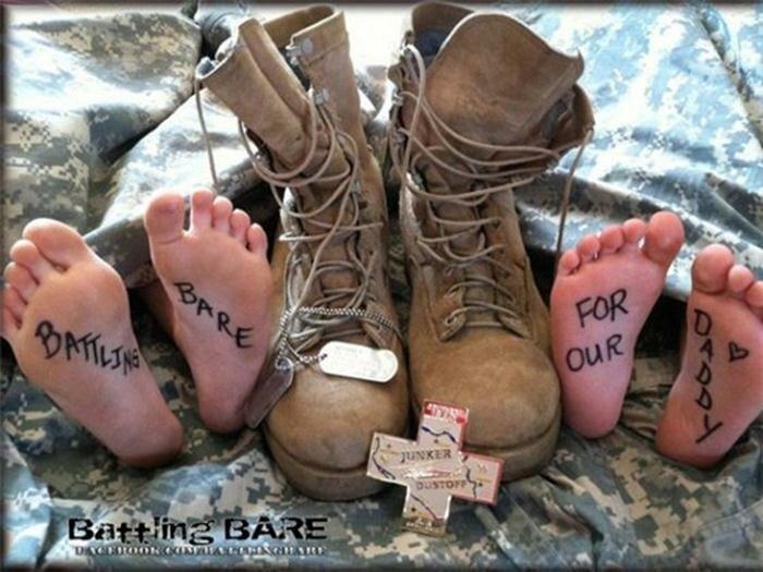 «Обнаженный бой» жен американских военных