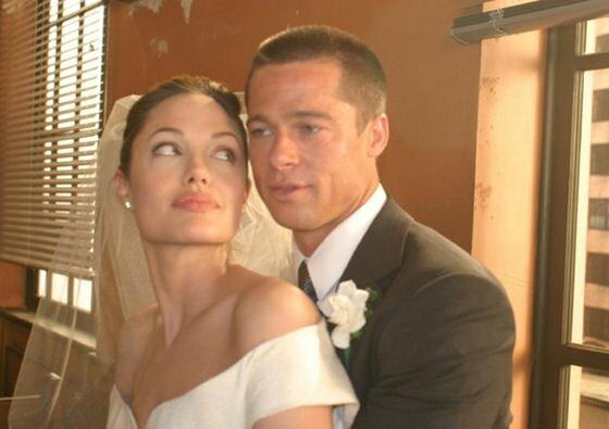 Анджелина Джоли выбрала свадебное платье L'Wren Scott