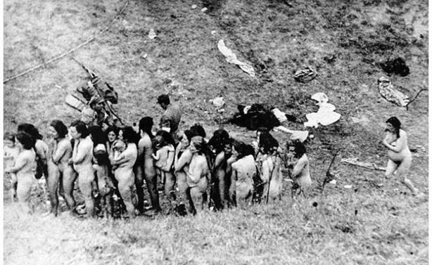 Холокост. История женщины с ребенком на фото. Фотографии