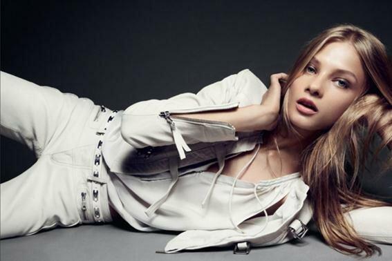 Модель Анна Селезнёва в рекламной кампании Hunkydory. Фотографии. Справка