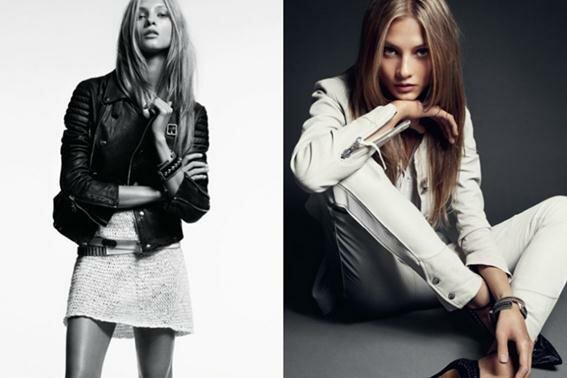 Модель Анна Селезнёва в рекламной кампании Hunkydory. Фотографии