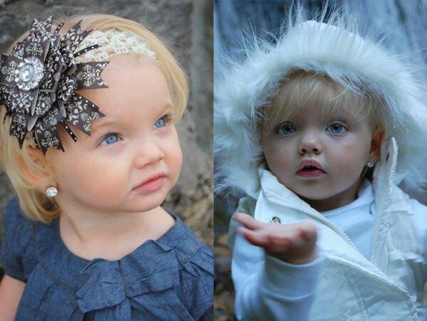 Двухлетняя модель Ира Браун из Америки. Фотографии