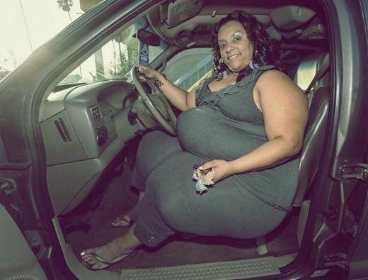 Женщина с самыми широкими в мире бедрами. Фотографии Микель Руфинелли